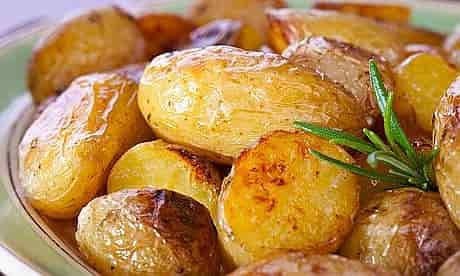 Potato minerals - Roasted Potatoes with Rosemary