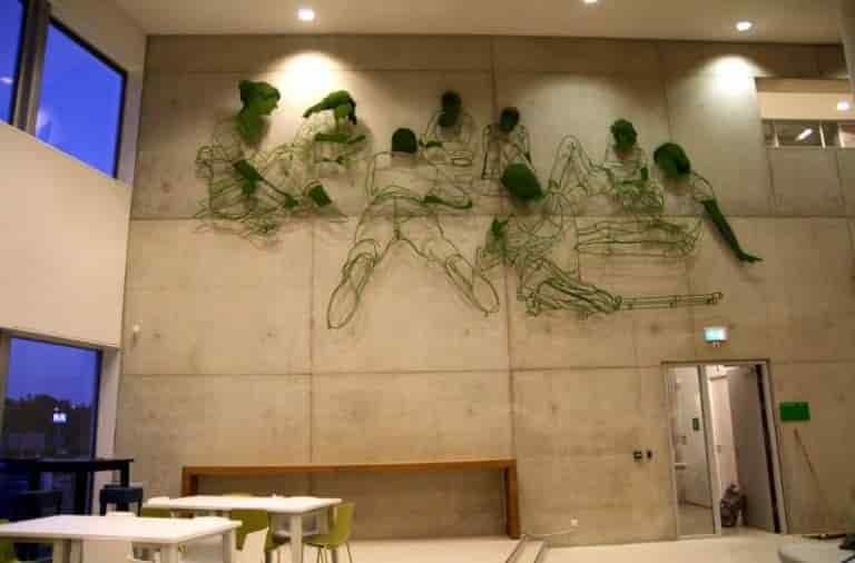 Frank Plant - The First Part of Sculpture Composition 'Grow' by Low