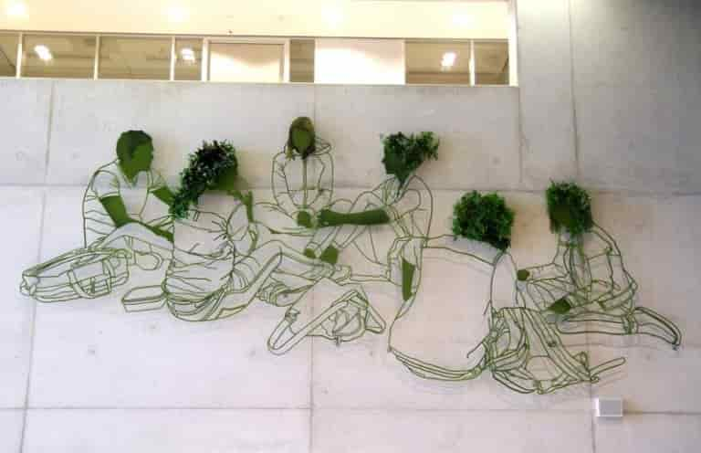 Frank Plant - The Second Section of 'Grow' Sculpture Composition