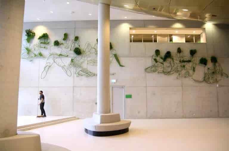 Frank Plant - Photo of the 'Grow' project at the Wageningen University