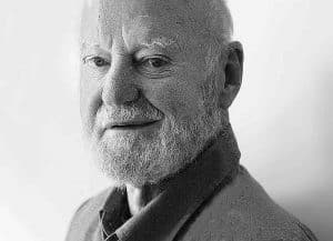 Photographic Portrait of Lawrence Ferlinghetti