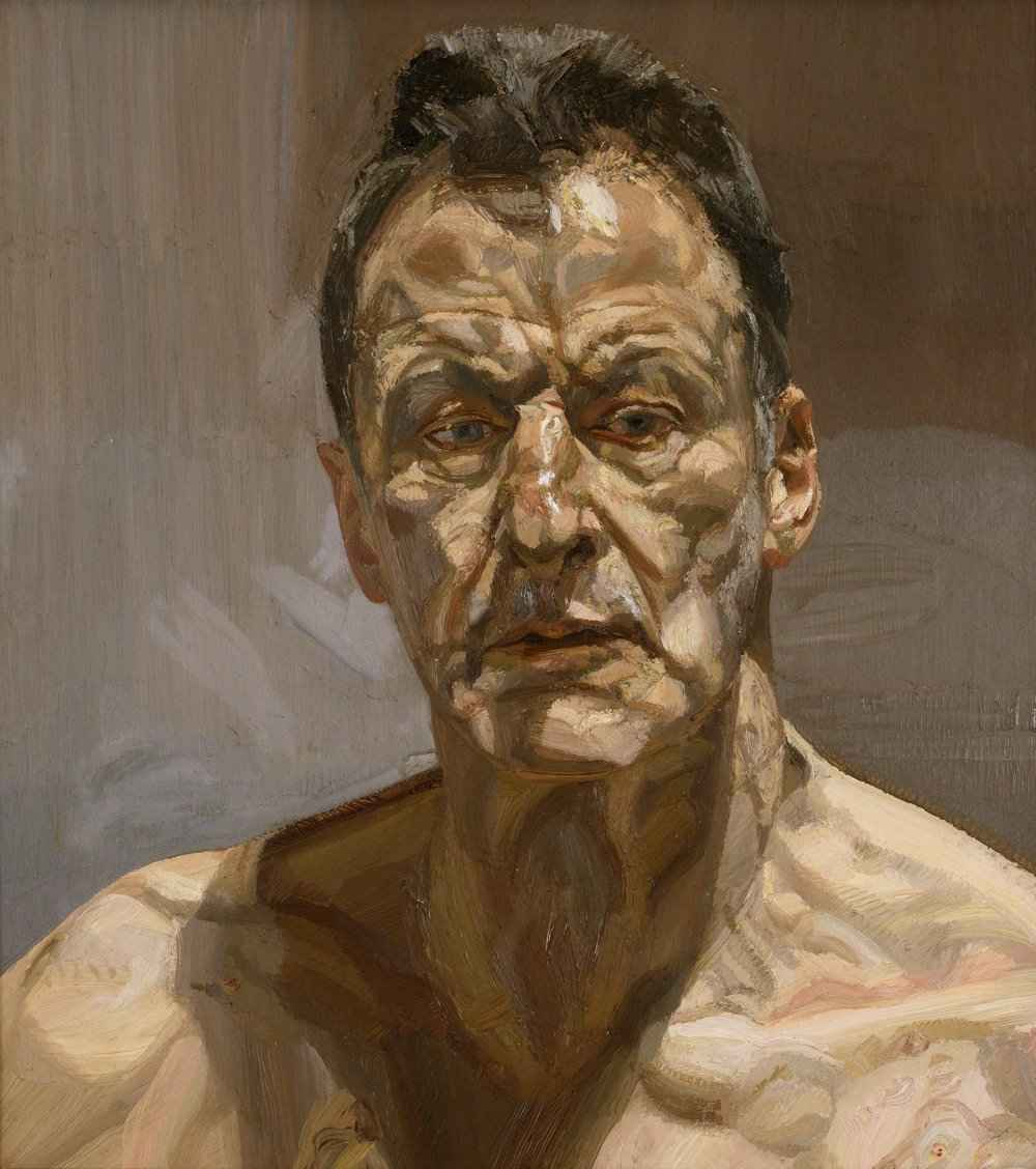 Lucian Freud – Reflection (Self-portrait), 1985