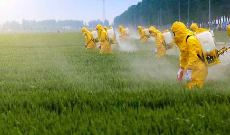 Aliens are Spraying (us) with Organophosphate Pesticides