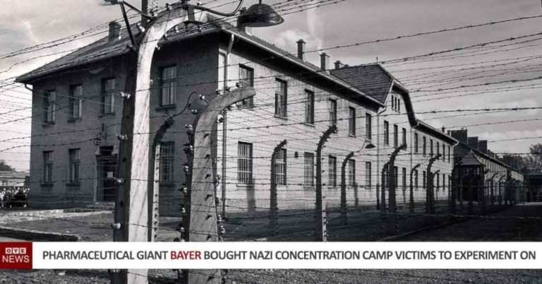 The Pharmaceutical Giant Bayer Bought Nazi Concentration Camp Prisoners To Experiment On