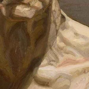 Lucian Freud, Reflection - Detail, Light and Shadow