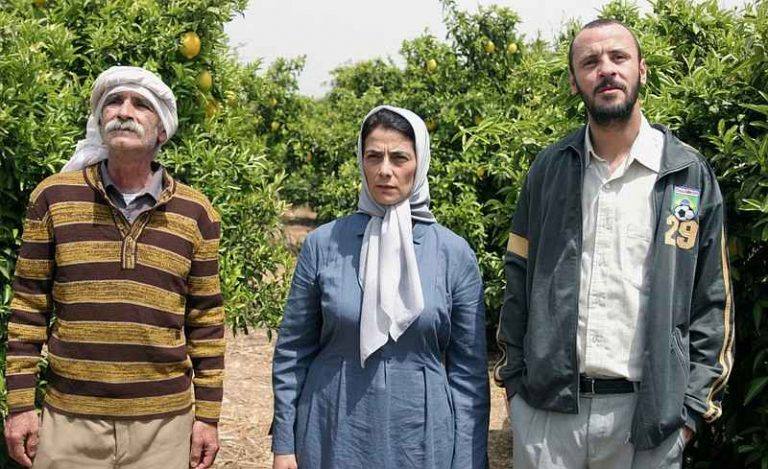 Salma with the Young Lawyer Ziad & the Farmhand in the Lemon Orchard