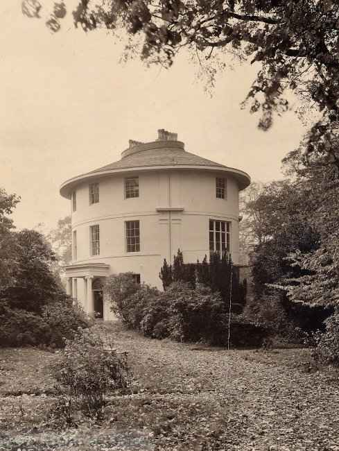 The Round House, Residence of Joseph Pemberton & his Sister Florence