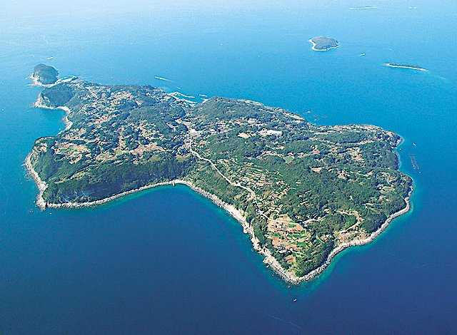 Kuroshima Island, the Biggest of Saikai National Park in Japan