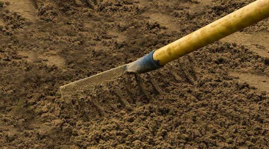 A Simple Rake also Contributes to Soil Preparation for Seeding or Sodding Home Lawns